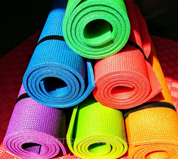 Коврик для фитнеса, йоги, аэробики