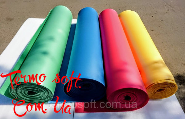 Цветной ИЗОЛОН для ростовых цветов  ППЕ 3002 ( КРАСНЫЙ )