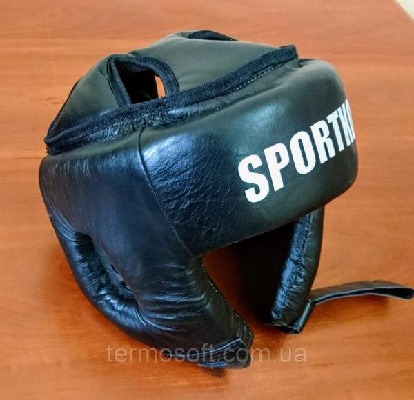 Шлем боксерский открытый (натуральная кожа).
