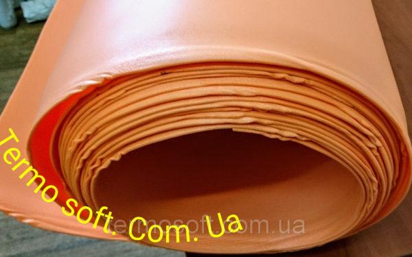 Цветной ИЗОЛОН для изготовления ростовых цветов ППЕ 3003 ( ОРАНЖЕВЫЙ )