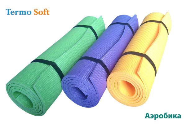 Фитнес-коврик для упражнений, фитнеса, аэробики