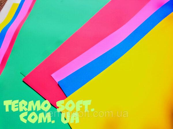 ФОАМИРАН . Цветные листы EVA 3075 (вспененный этиленвинилацетат, ЭВА, фоамиран,) цветной, листовой 2мм.СИНИЙ