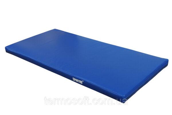 Спортивный мат для занятий борьбой и гимнастикой (кожвинил) 10см.