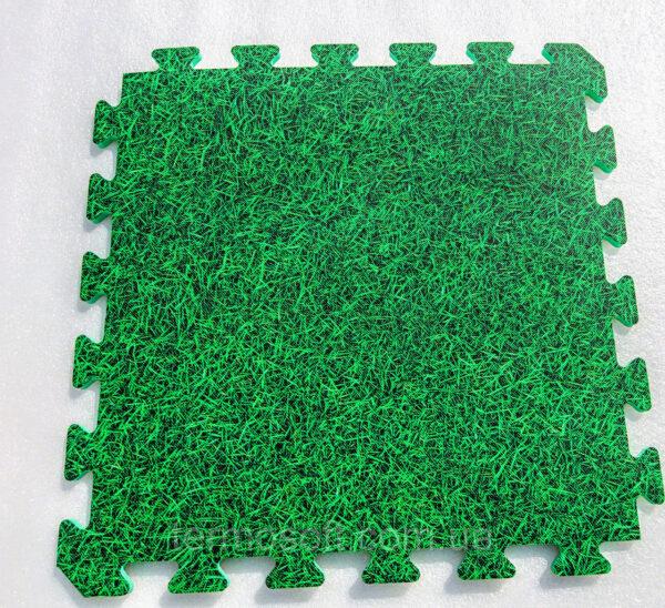 Мягкое модульное покрытие для детских комнат и залов ТРАВА(EVA) 50х50х1см (УКРАИНА)
