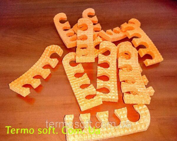 Растопырки для педикюра, разделители для пальцев ног при педикюре.ЖЕЛТЫЕ