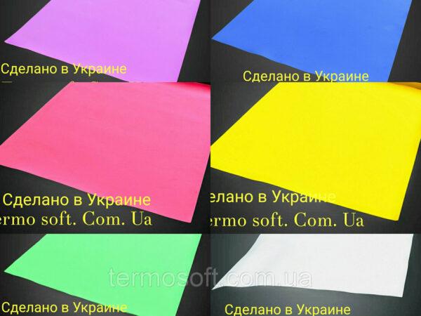 Цветные листы EVA 3075 (вспененный этиленвинилацетат, ЭВА, фоамиран, фоам) цветной, листовой 2мм.СИНИЙ