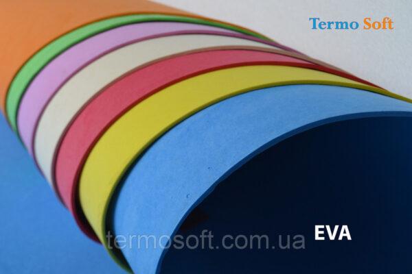 Фоамиран для цветов.Цветной Изолон , Цветные листы EVA 3075 ( ЭВА, фоамиран, фоам) цветной, листовой 2мм.СИНИЙ