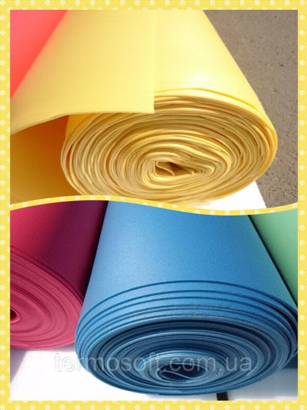 Цветной Изолон ППЭ 3002;полотно-2мм цветной СЕРЕБРО.