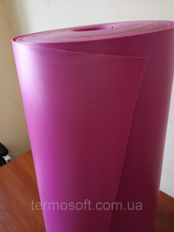 Цветной Изолон для цветов ППЭ 3002;полотно-2мм  ФУКСИЯ.