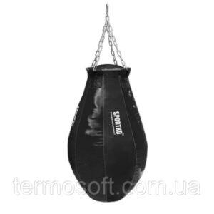 Каплевидная груша для бокса ПВХ (вес 65кг) с кольцом