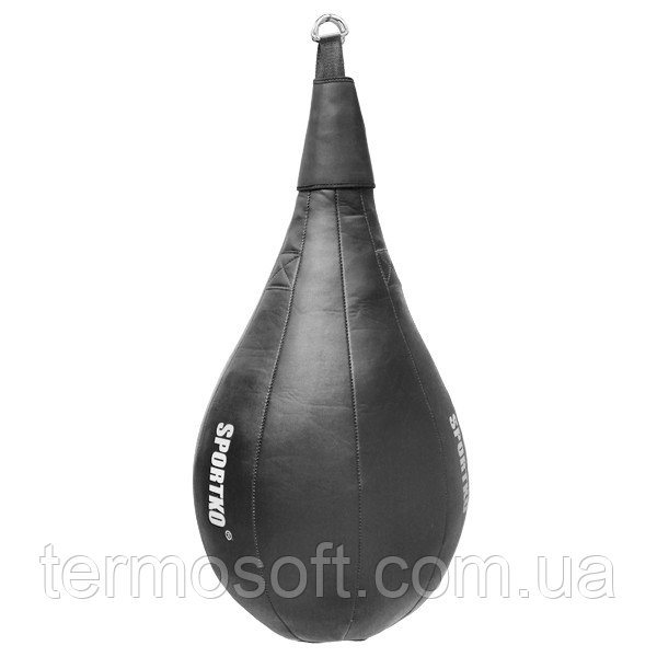 Каплевидная боксерская груша с кожи ( вес 18кг )