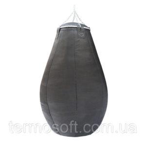 Груша для бокса каплевидная (вес 60 кг) из ременной кожи 3.5 - 4мм