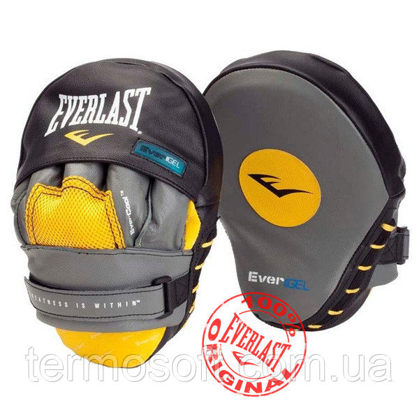 Лапы для бокса Everlast EVERGEL MANTIS PUNCH MITTS 4416GL