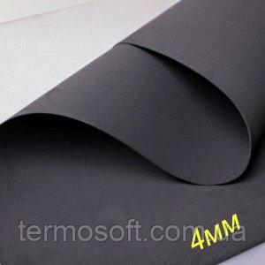 Листовой материал EVA 100 (латекс,вспененный этиленвинилацетат, ЭВА, фоамиран, фоам) Черный  10мм.