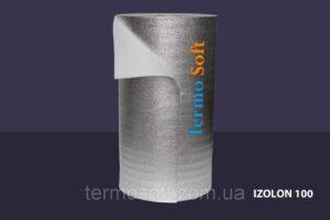 Материал для теплоизоляции. Вспененный полиэтилен НПЭ фольгированный, толщина полотна-3мм.