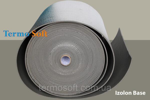 Фольгированный материал для утепления. Izolon Base 05 фольгированный, полотно ППЭ НХ+фольга-5мм