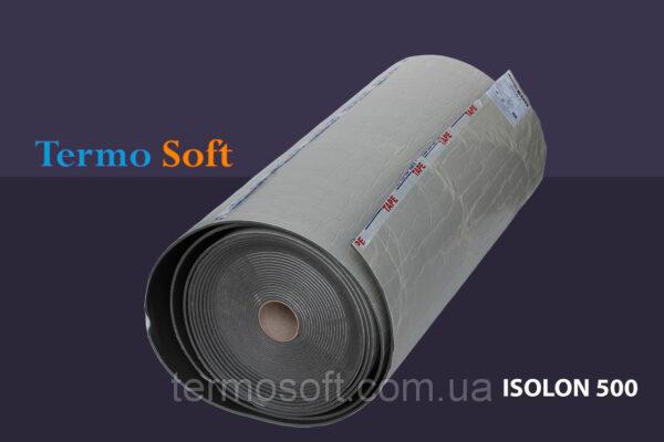 Шумоизоляция самоклейка. Вспененный полиэтилен Isolontape, Изолон ППЭ 3003 самоклеющийся-3мм