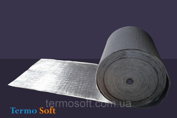 Утеплитель с фольгой и клеем. Вспененный полиэтилен ППЭ НХ Izolon Base фольга, самоклейка 5мм.